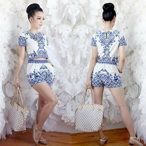 Fine China co ord set